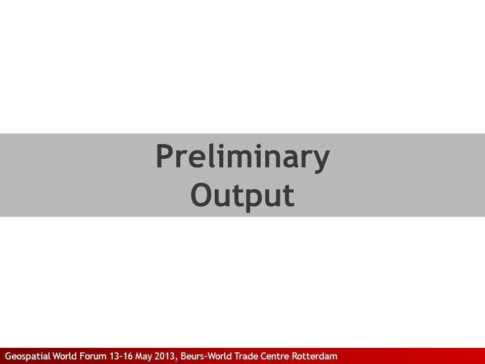 Preliminary Output