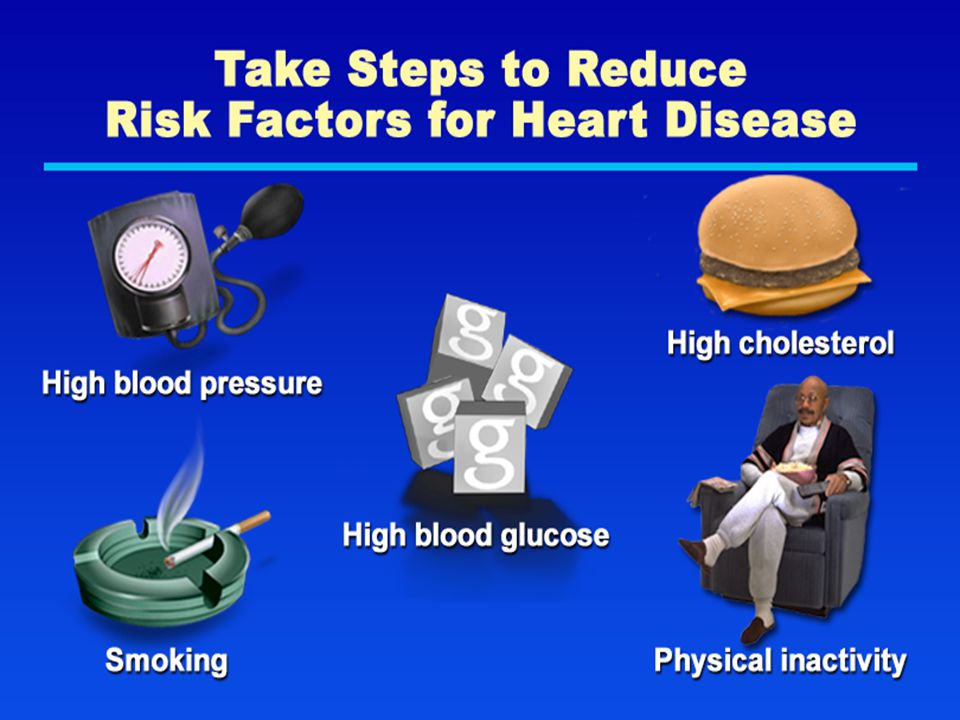 Take Steps to Reduce Risk Factors for Heart Disease