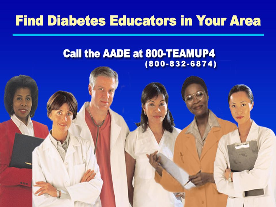Find Diabetes Educators in Your Area