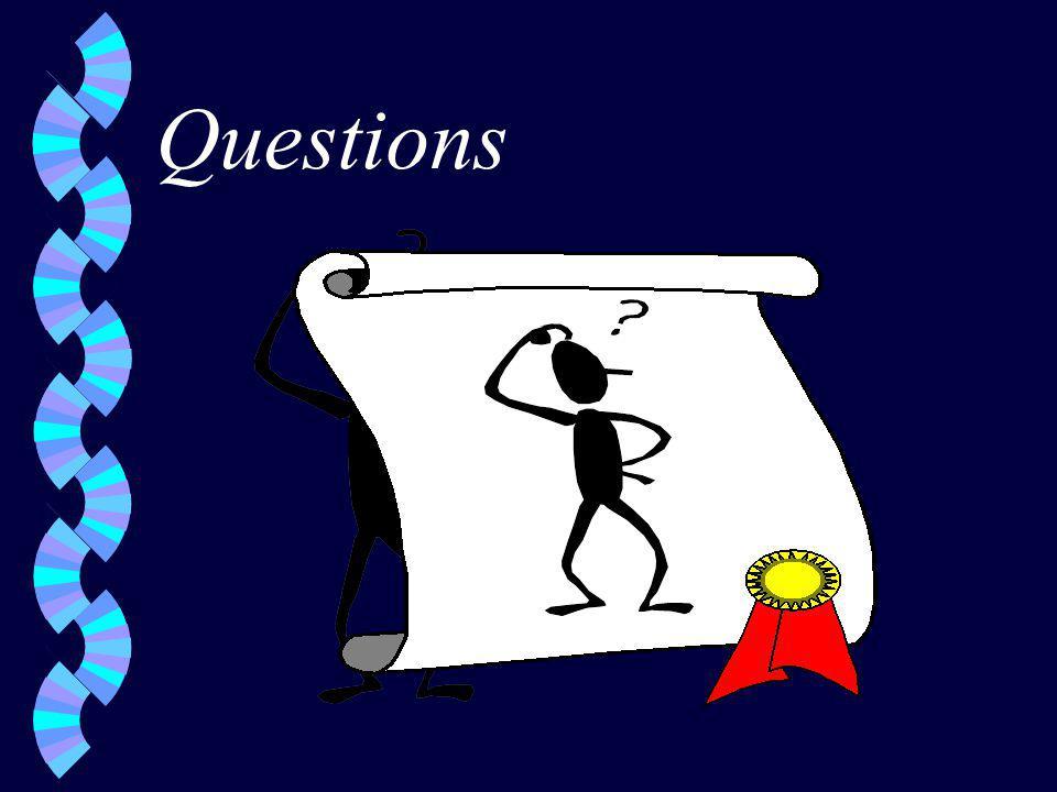Questions w.w.