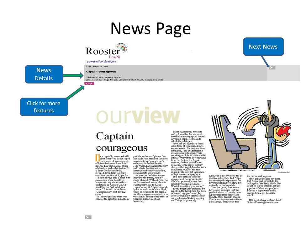 News Page Next News News Details Click for more features