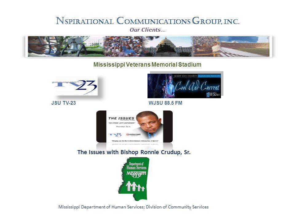 N spirational C ommunications G roup, Inc.