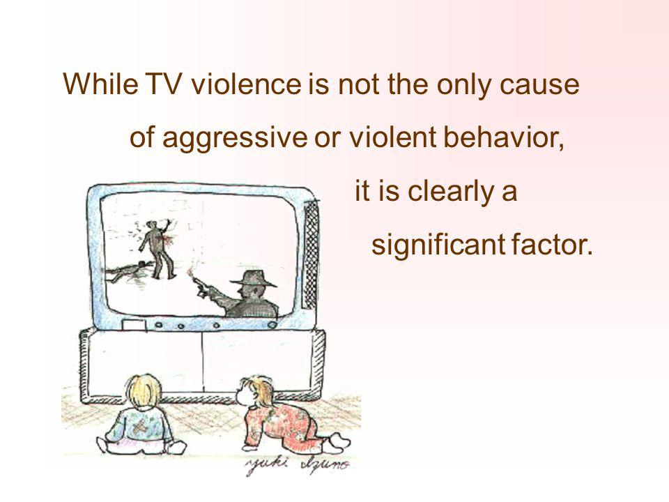 Kids' viewing of TV violence linked to aggression as adults (AP) -- People who watch violent television as children behave more aggressively even 15 y