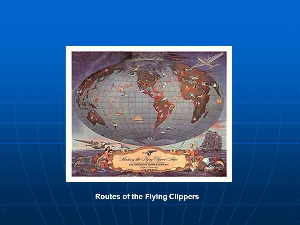 Routes of the Flying Clippers