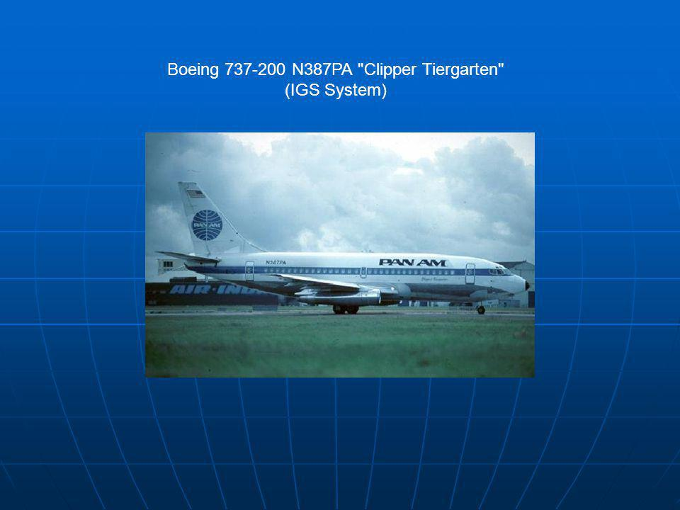 Boeing 737-200 N387PA Clipper Tiergarten (IGS System)