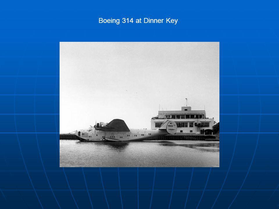 Boeing 314 at Dinner Key