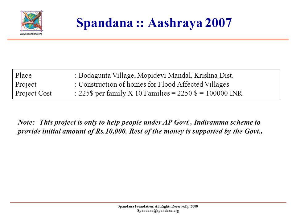 Spandana Foundation.