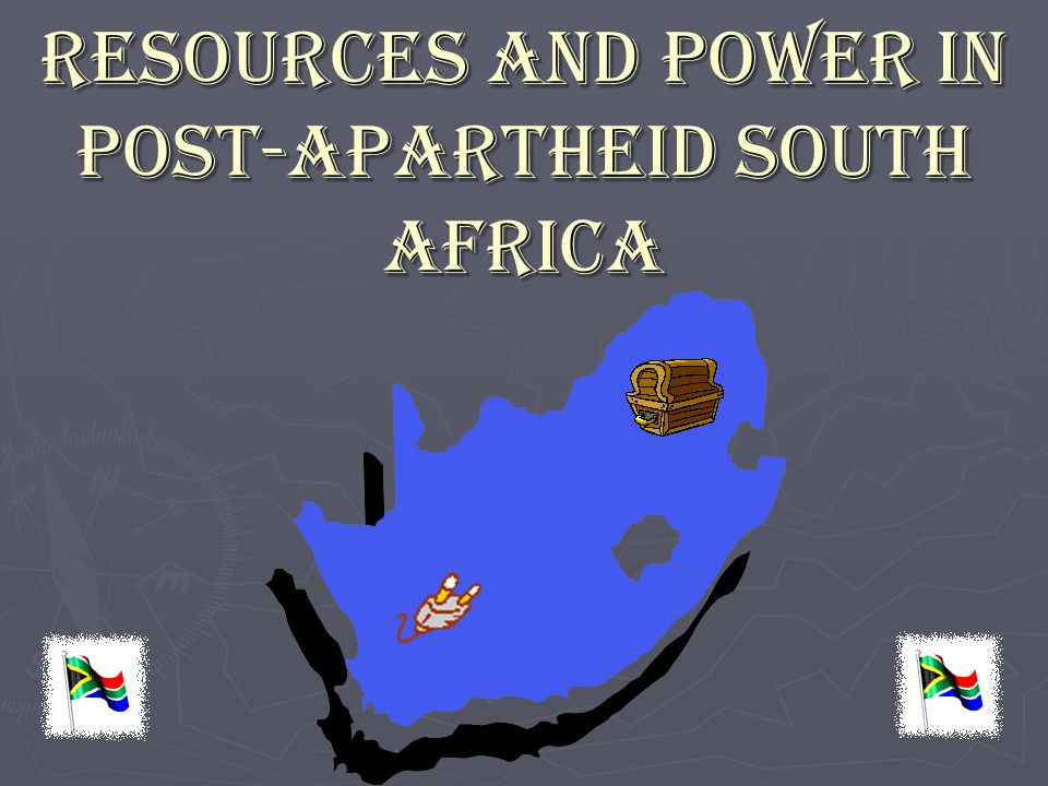 Resources and Power in Post-Apartheid South Africa