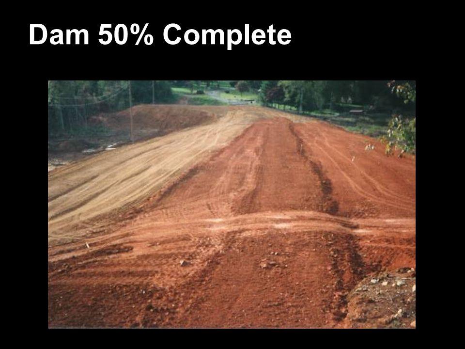 Dam 50% Complete
