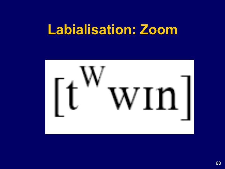 68 Labialisation: Zoom