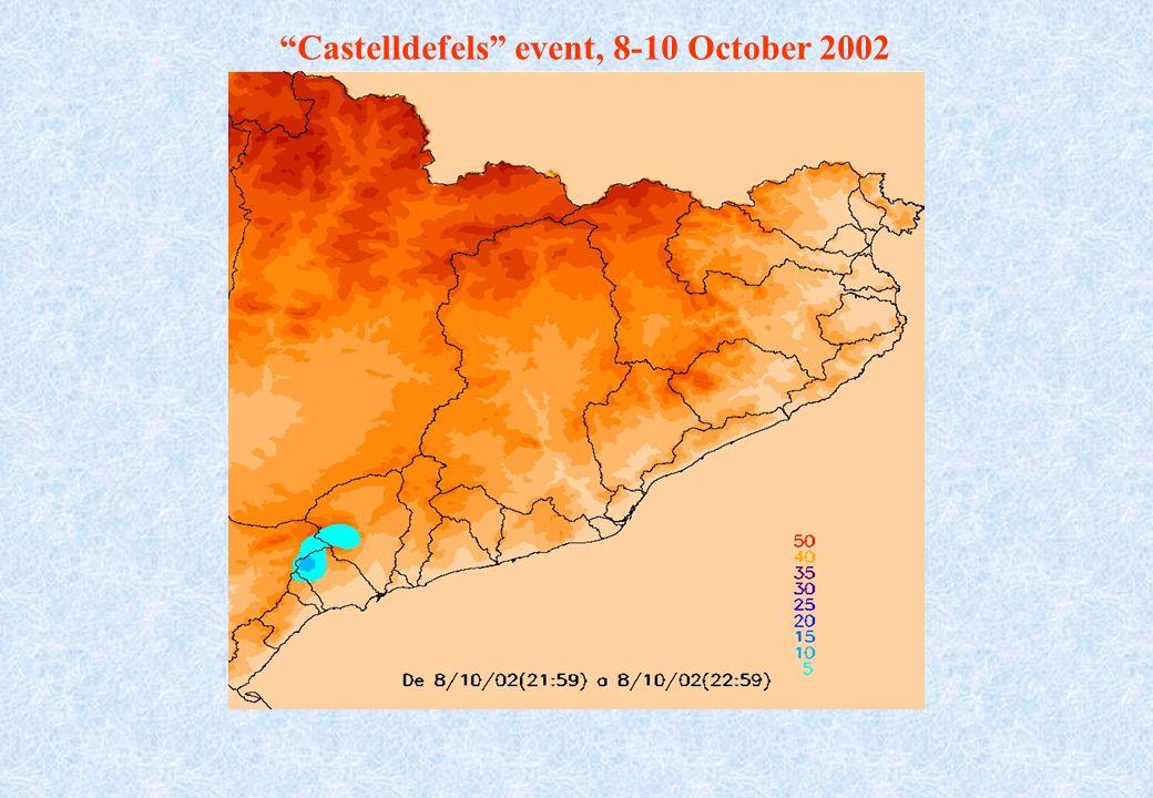 Castelldefels event, 8-10 October 2002