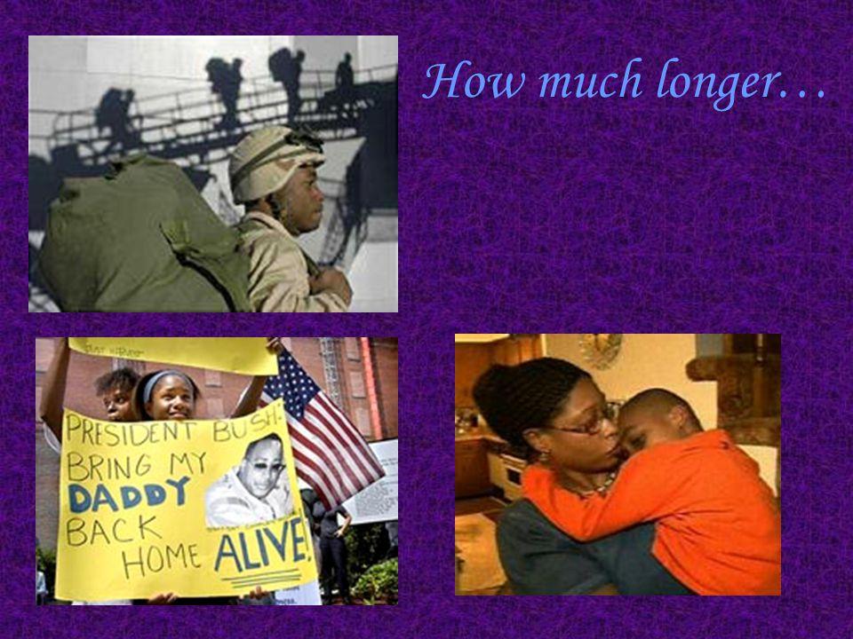How much longer…