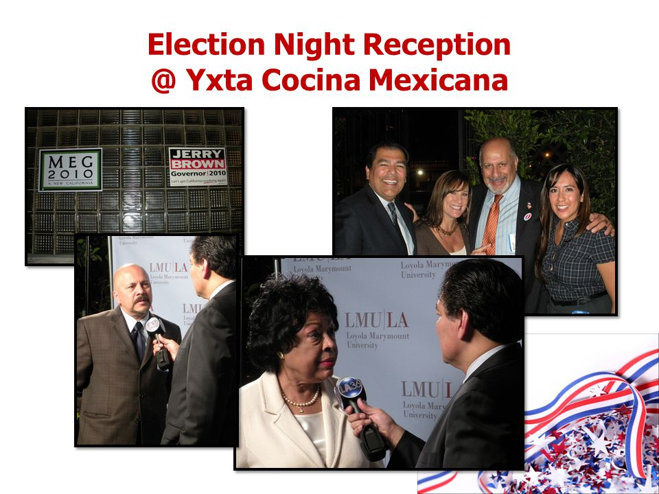 Election Night Reception @ Yxta Cocina Mexicana