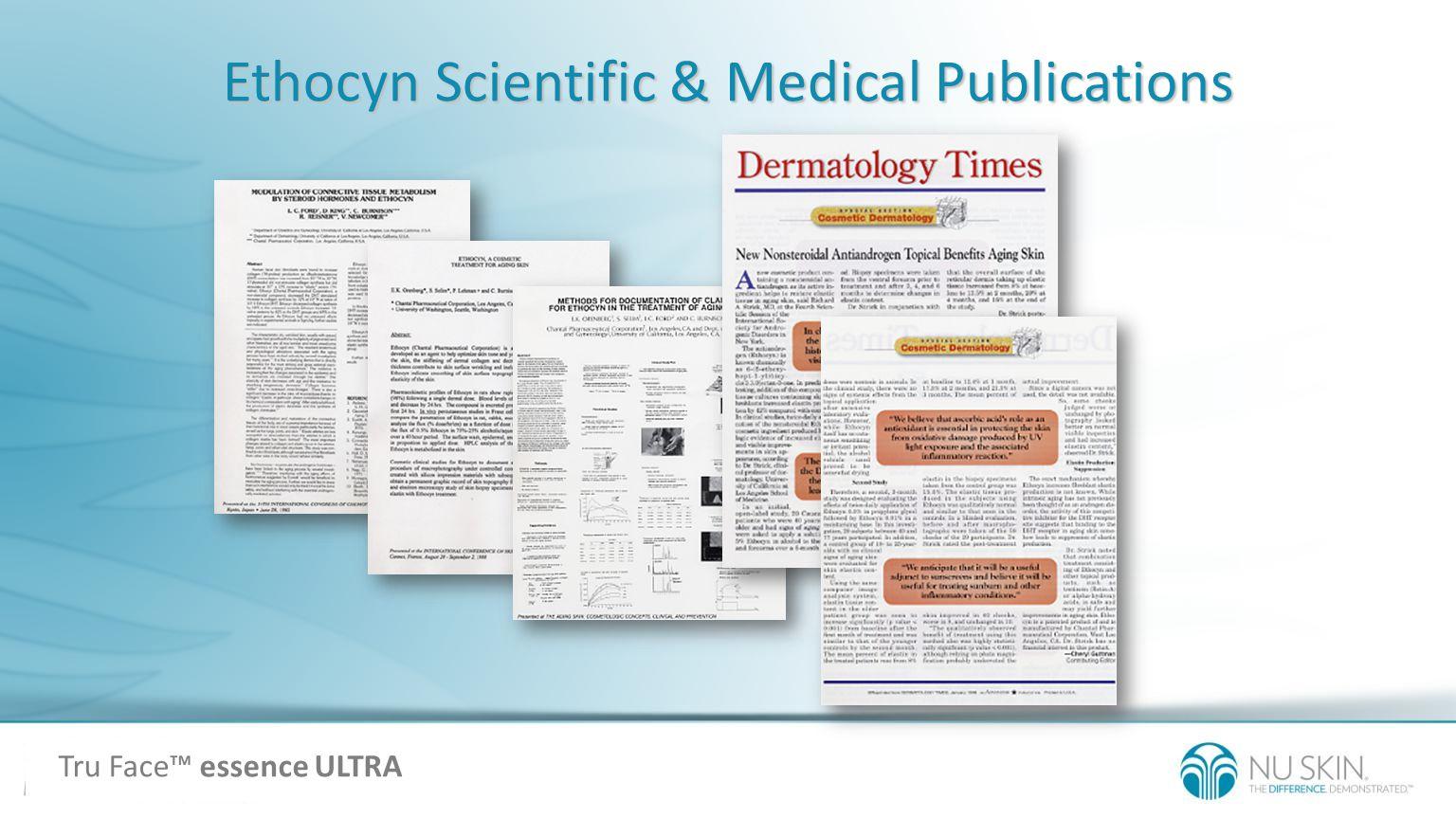 Ethocyn Scientific & Medical Publications Tru Face essence ULTRA