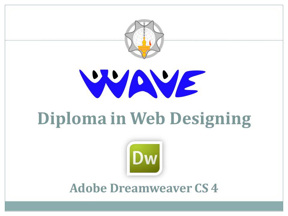 Diploma in Web Designing Adobe Dreamweaver CS 4