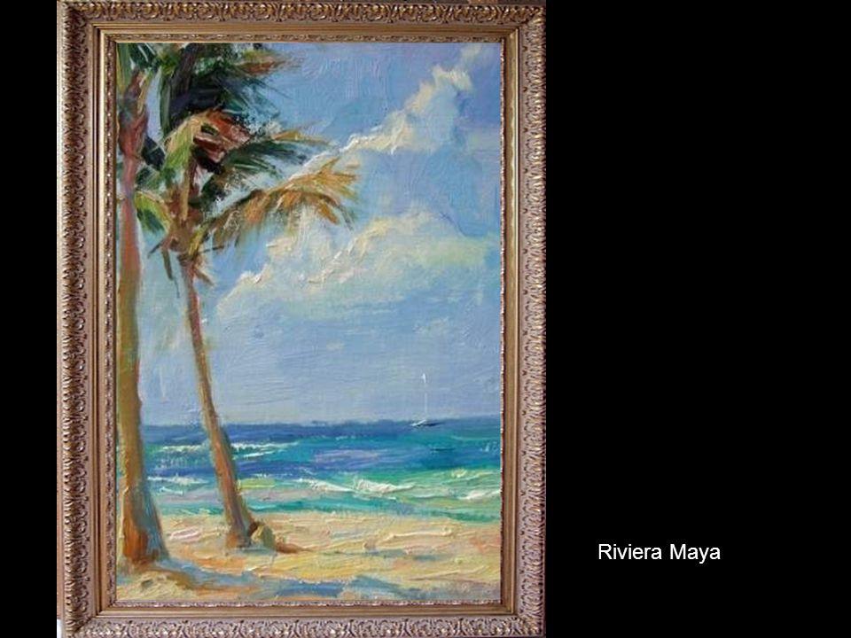 Plein Aire in Riviera Maya