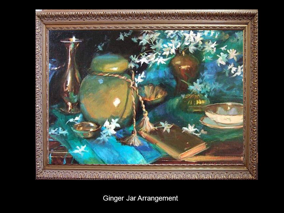 Ginger Jar Arrangement