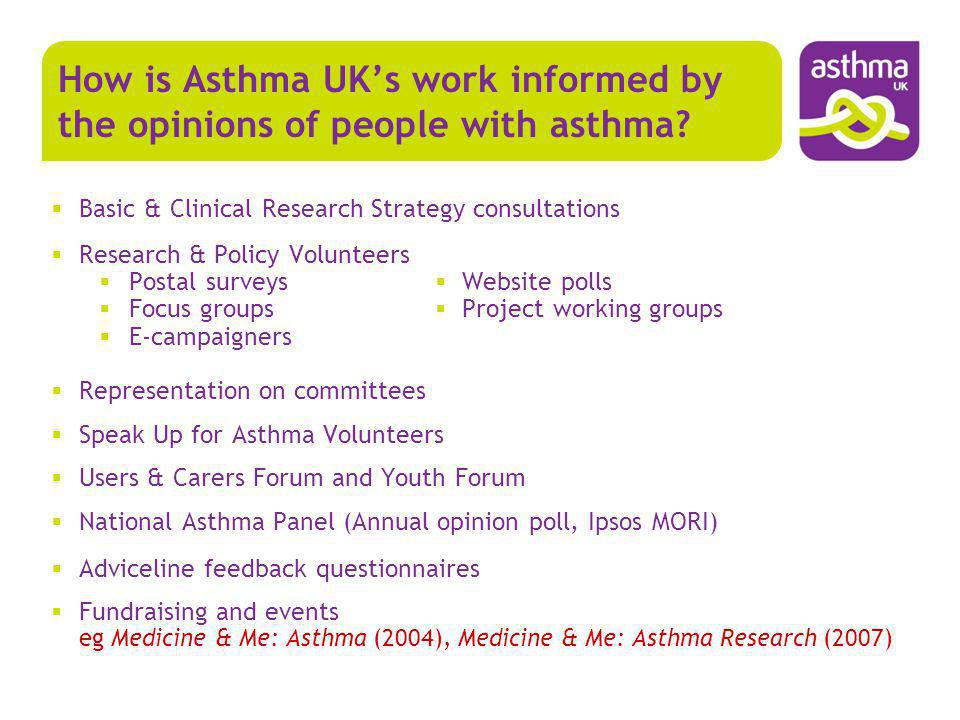 What are the top 10 shared priority asthma treatment uncertainties?