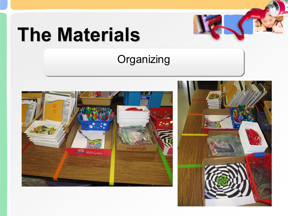 The Materials Organizing