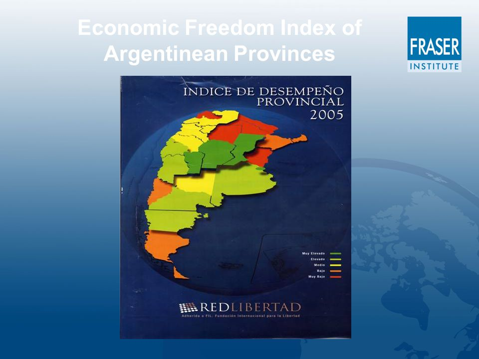 Economic Freedom Index of Argentinean Provinces
