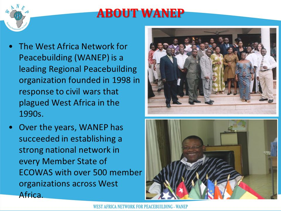 Welcome to WANEP!