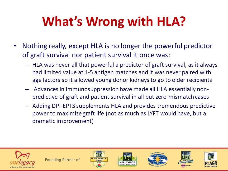 Whats Wrong with HLA.