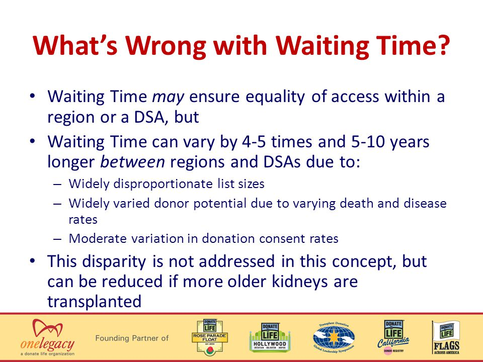 Whats Wrong with Waiting Time.