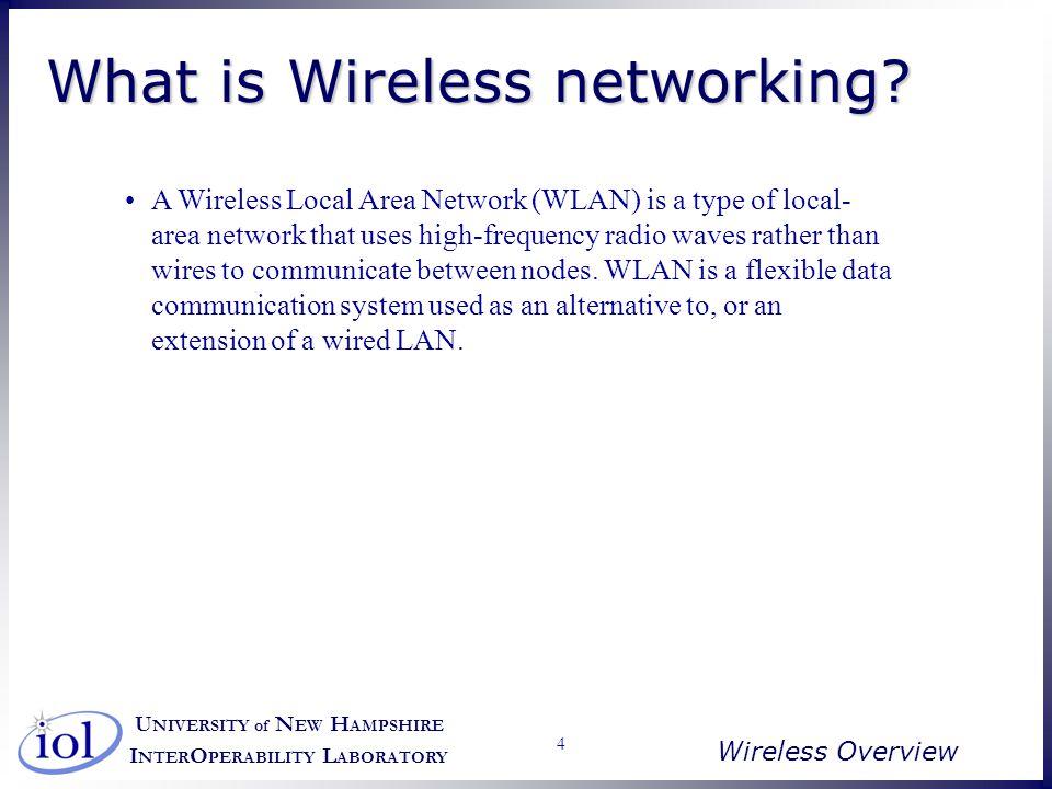 U NIVERSITY of N EW H AMPSHIRE I NTER O PERABILITY L ABORATORY Wireless Overview 45 MAC Layer Overhead 22112 1
