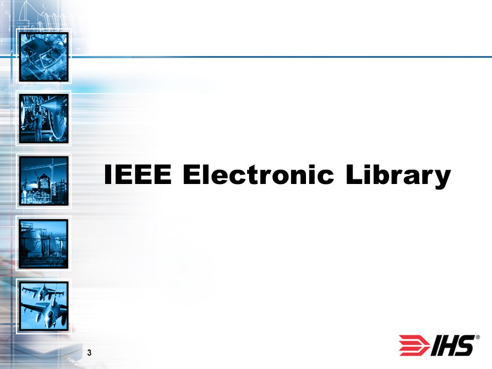 3 IEEE Electronic Library