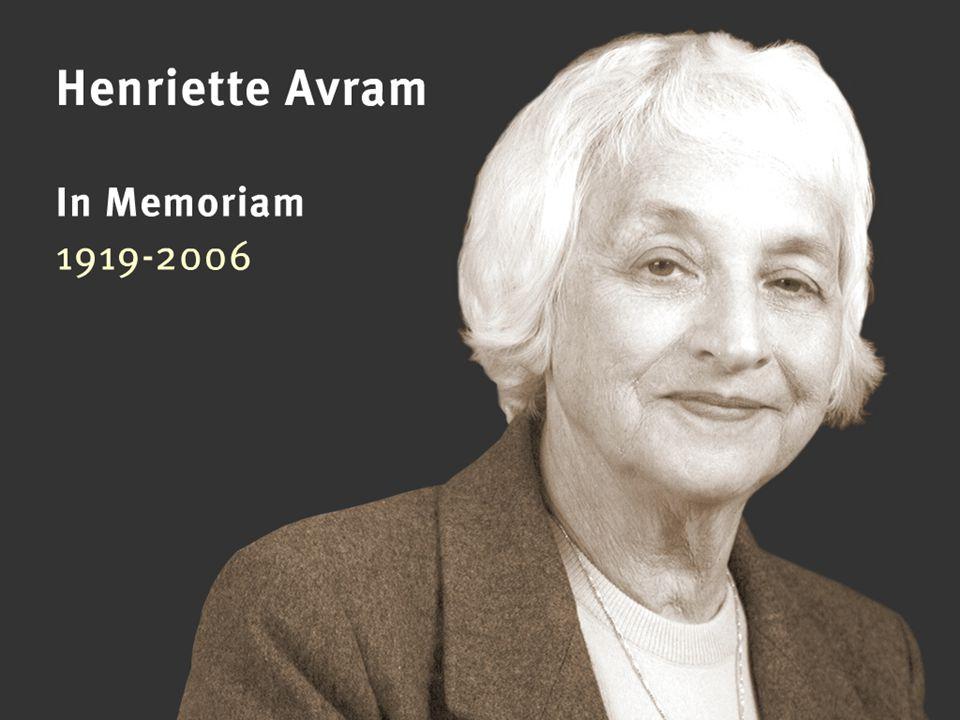 OCLC Online Computer Library Center Henriette Avram