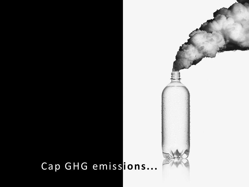 Cap GHG emissions...