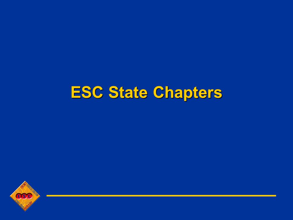 ESC State Chapters