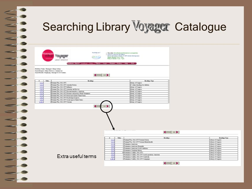 Searching UBCO Library Catalogue Choose Okanagan as location Look for main Catalogue link OC Library page