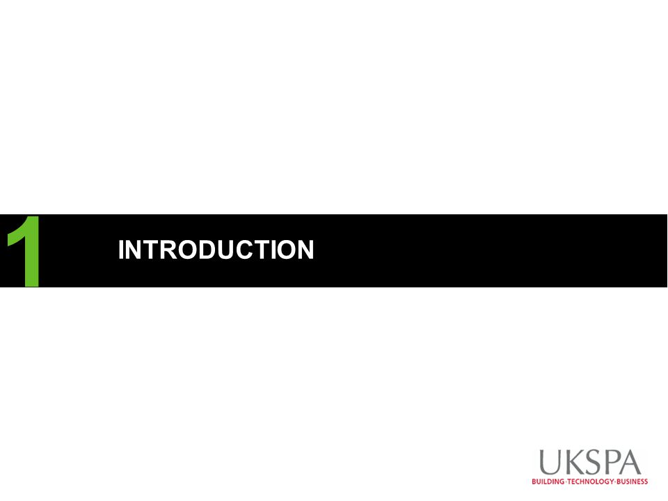CLIENT LOGO INTRODUCTION 1 Overtype the hash (#) with your section number To insert more Divider Slides, copy and paste this one