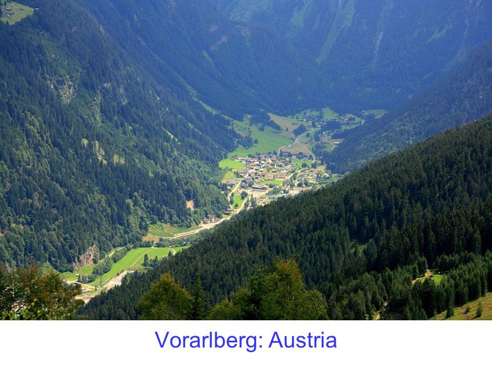 Vorarlberg: Austria