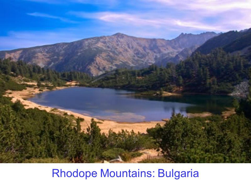 Rhodope Mountains: Bulgaria
