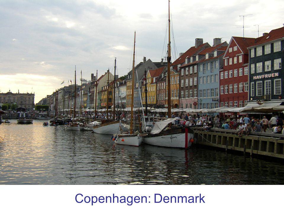 Copenhagen: Denmark