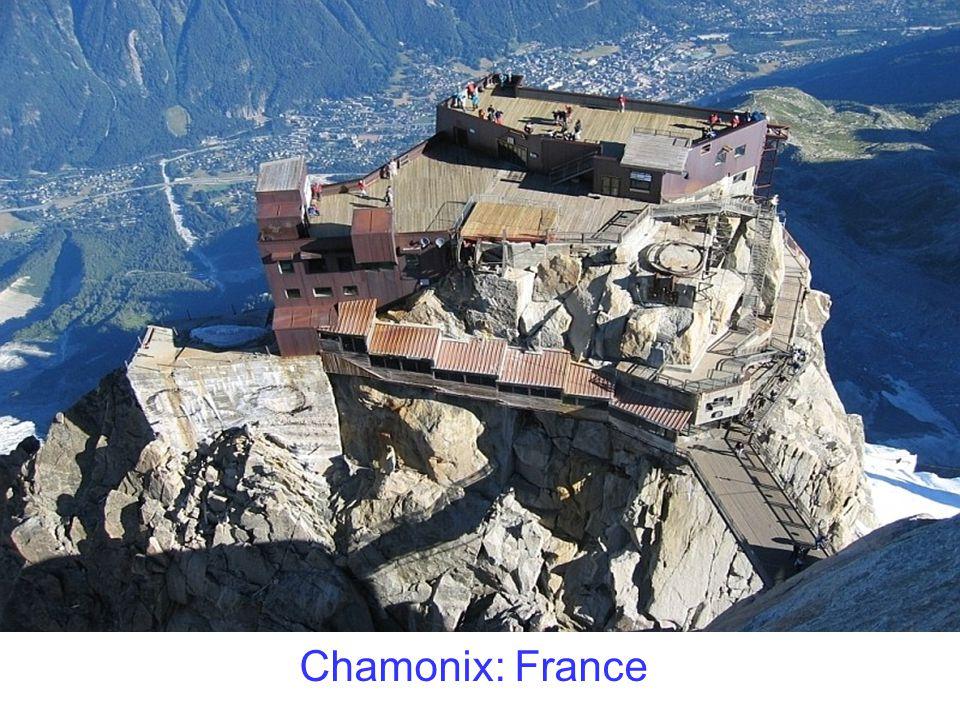 Chamonix: France