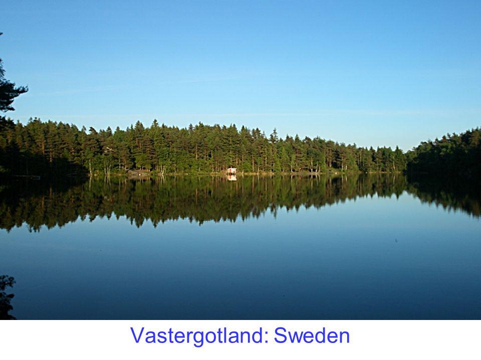 Vastergotland: Sweden