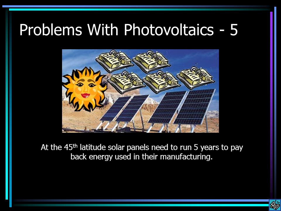 Its not likely that in the future we will ever be able to make replacement solar panels from the energy generated by solar panels.