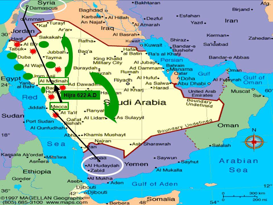Hijra 622 A.D
