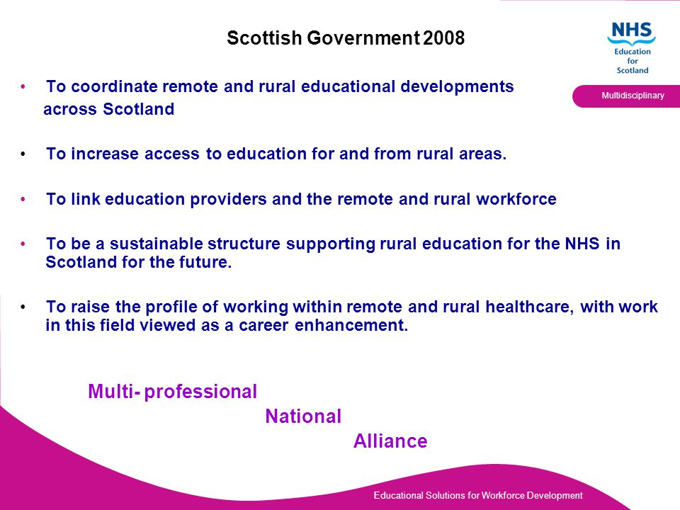 Educational Solutions for Workforce Development Multidisciplinary Programmes Enquiries Platform Strategic Engagement Partnership Working Mapping Reporting Promoting RRHEAL What we do