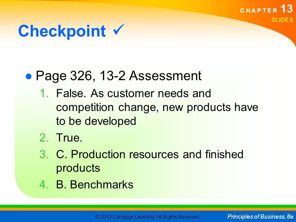 © 2012 Cengage Learning.All Rights Reserved.