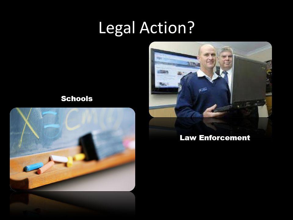 Legal Action Schools Law Enforcement