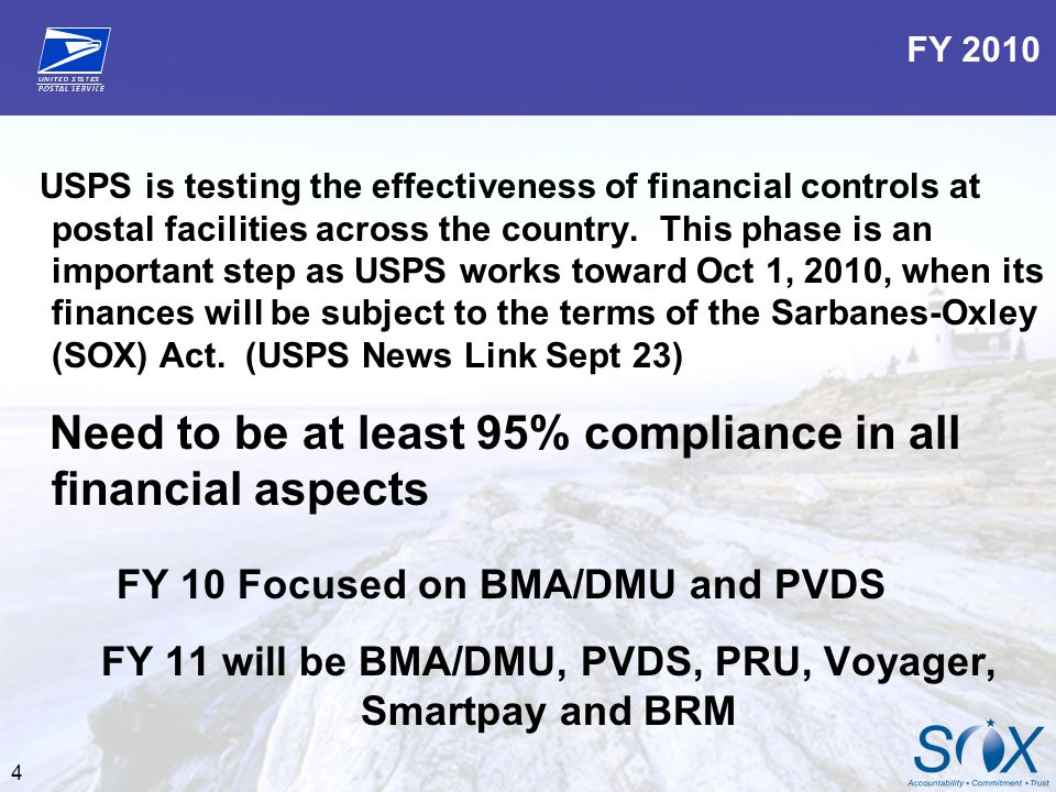 5 In Compliance Success: BMEU and BRM – Negative balances Inactive Accounts Late Mailing Statements Voyager- Reconciling statements Audits- Clerk cash counts SIA retail floor audits Purchasing- Smartpay card eBUY