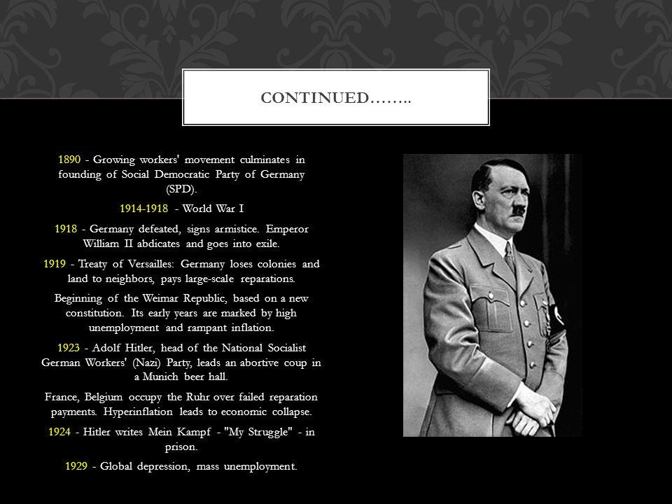 BBC News - Timeline: Germany. BBC News - Home. Web. 09 Nov. 2011.. BIBLIOGRAPHY