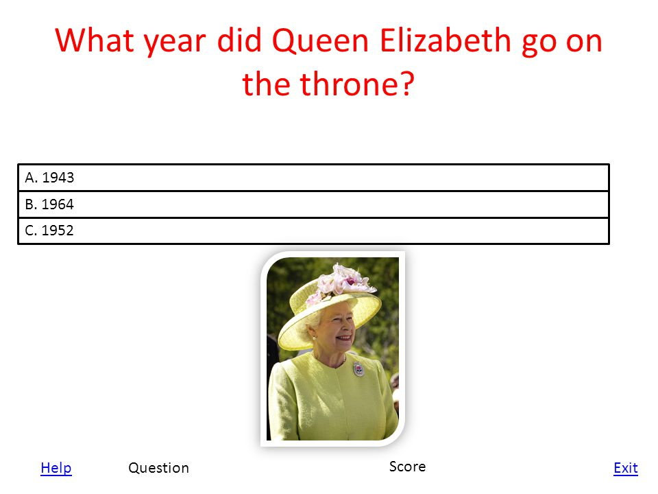 Help Exit Who was on the throne before Queen Elizabeth II.