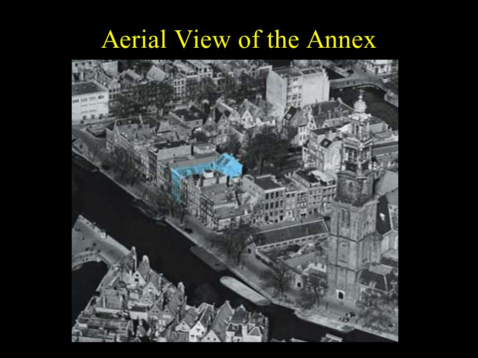 Aerial View of the Annex