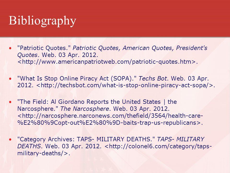 Bibliography Patriotic Quotes. Patriotic Quotes, American Quotes, President s Quotes.