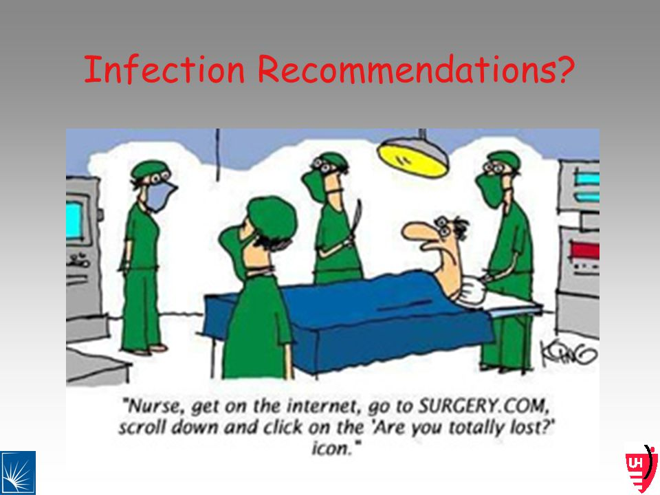 Infection Recommendations